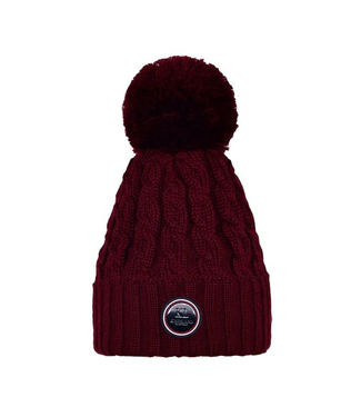 Kingsland Iroquois Ladies Knitted Hat Red Port Royal