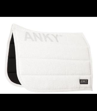 Anky Pad Dressuur Shiny  Wit