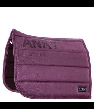 Anky Pad dressuur shiny Purple