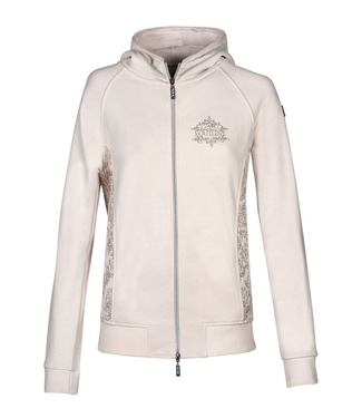 Equiline Women's Full Zip Sweatshirt Magpie
