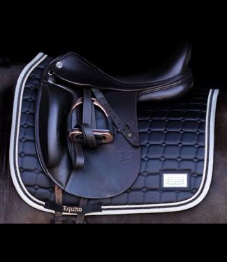 Equito Saddle Pad - Black Ivory DR