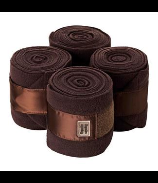Equito Fleece Bandages - Roasted Coffee