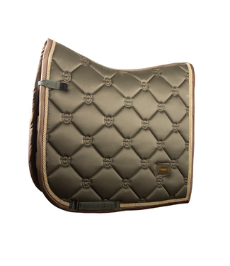 Equestrian Stockholm DRESSAGE SADDLE PAD GOLDEN OLIVE
