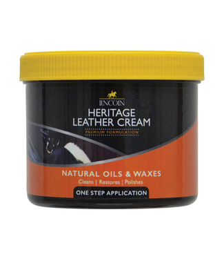 Lincoln Heritage Leather Cream