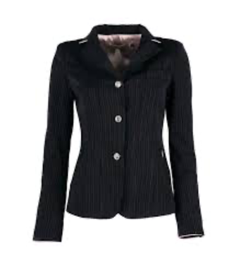 Couture Hippique Jumping jacket, pipping, swar+crystal