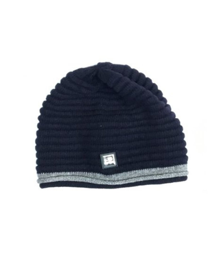 Equiline Unisex Wool Knitted Cap Caris Navy