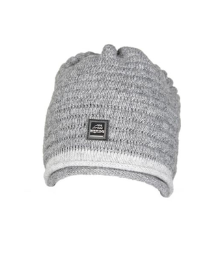 Equiline Unisex Wool Knitted Cap Caris Grey