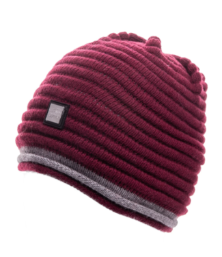 Equiline Unisex Wool Knitted Cap Caris Bordeaux