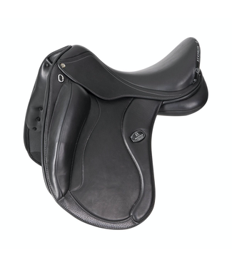 "Acavallo RAFFAELLO dressage saddle - flocked panels 17.5 """