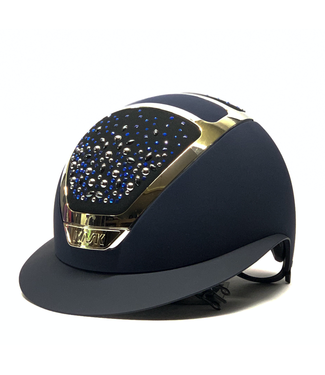 Kask Star Lady Chrome, Swarovski Pearls Ocean