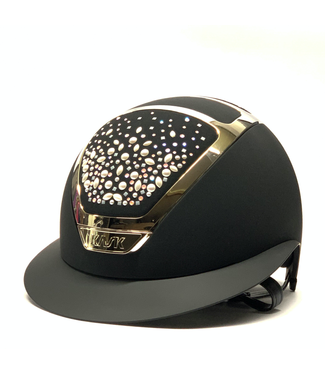 Kask Star Lady Chrome, Swarovski Pearls Rosè