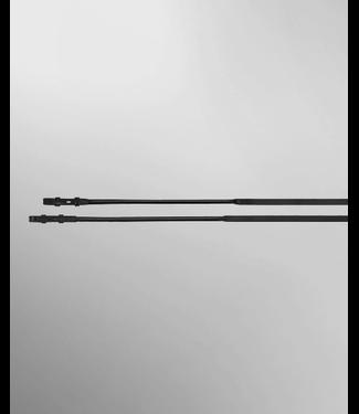 Passier Lederen teugel met blinde sluiting + rubber