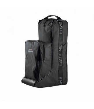 Equiline Boots and helmet bag Black