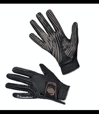 Samshield V-Sking Gloves Pink Gold Swarvoski