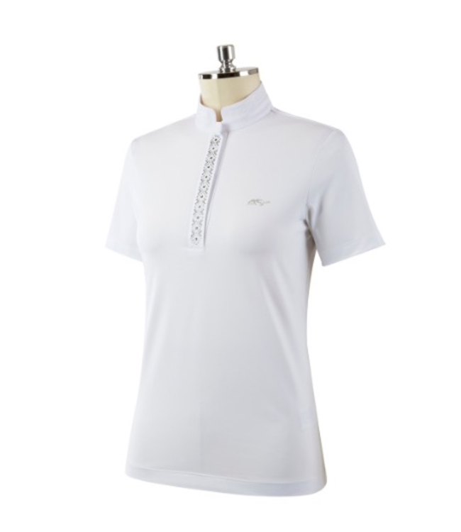 Anna Scarpati FASTA - Short Sleeve Competition Polo Shirt