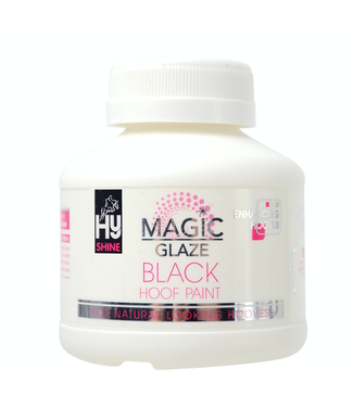 HyShine Magic Glaze Hoof Paint Black