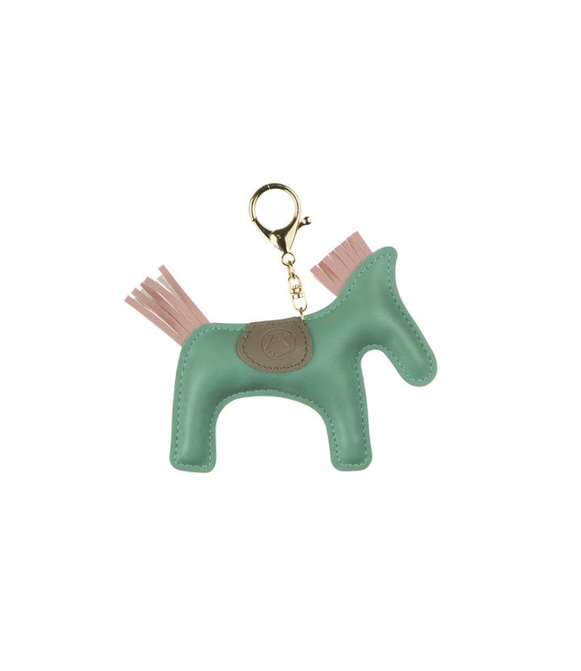 Ps Of Sweden Horse Keychain Light Green