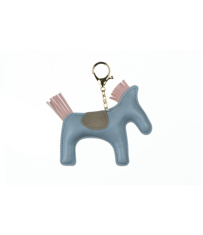 Ps Of Sweden Horse Keychain Light Blue