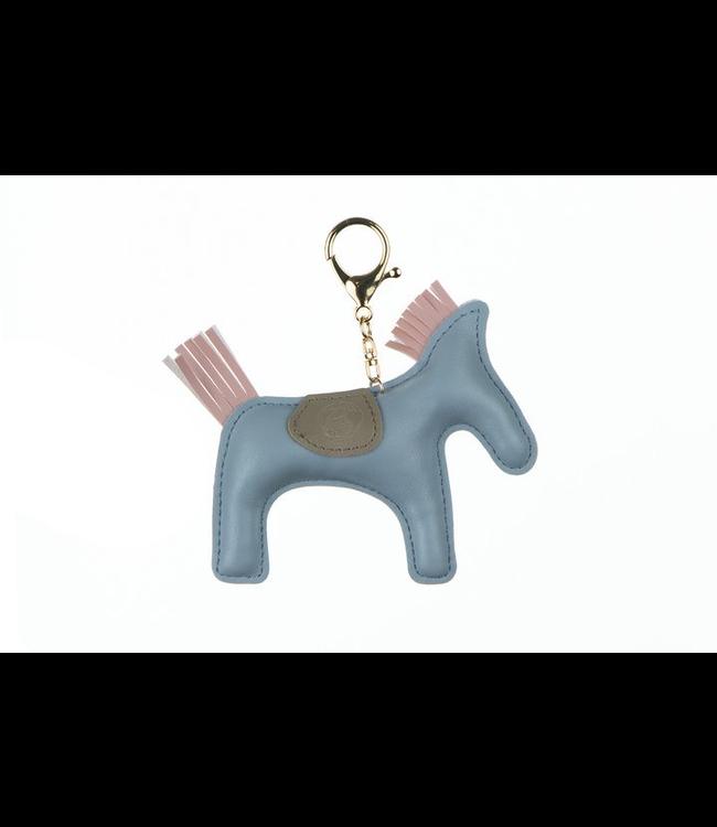 Ps Of Sweden Horse Keychain Light Blue