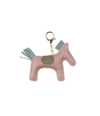 Ps Of Sweden Horse Keychain Light Pink