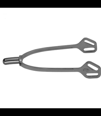 Sprenger ULTRA fit SLIMLINE spurs with Balkenhol fastening - Stainless steel, 20 mm rounded