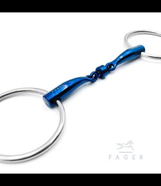 Fager Titanium Roller Loose Rings bit - BIANCA