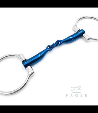 Fager Titanium Eggbutts bit - CARL