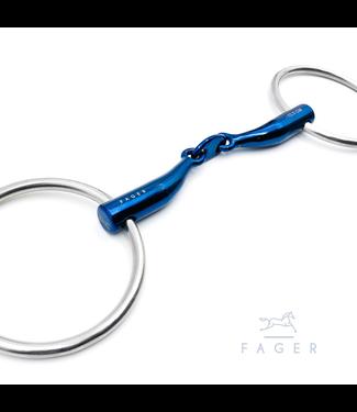 Fager Titanium Bar Relief Loose Rings bit - CARL