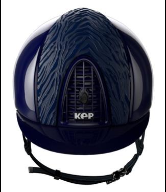 KEP KEP cromo polish blue - polish blue frame and grid - Zebra style inserts