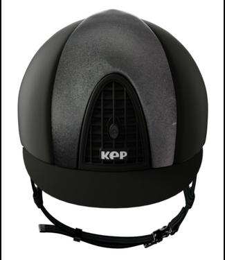 KEP Cromo Textile Black, Satin Front