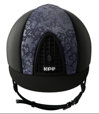 KEP Cromo Textile Black, Front Silk Blue/Black