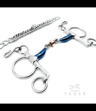 Fager Baby Pelham Tongue Relief Copper Roller - JULIA