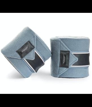 Equestrian Stockholm Fleece bandages Steel Blue