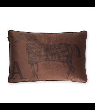 Adamsbro Coussin Horse Cinnamon