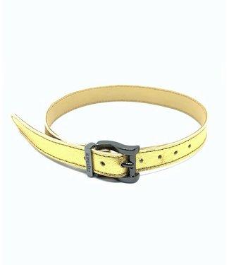 Kingsley Sporenriempjes - Gold/Black Chrome