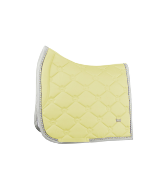Ps Of Sweden Saddlepad Dressage, Vanilla, Monogram