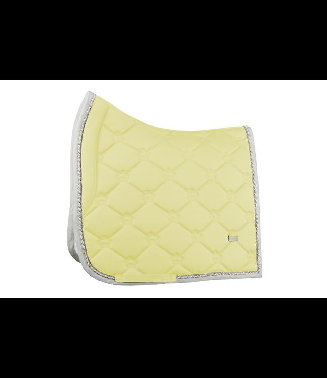 Ps Of Sweden Saddlepad Dressage, Vanilla, Monogram