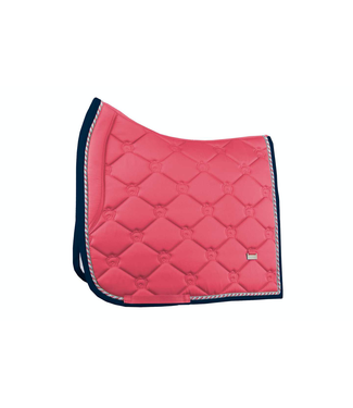 Ps Of Sweden Monogram Saddle Pad, Cranberry