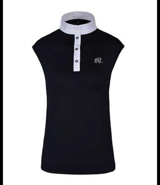 Kingsland KLcindy Dames Tec Show Shirt met korte mouwen