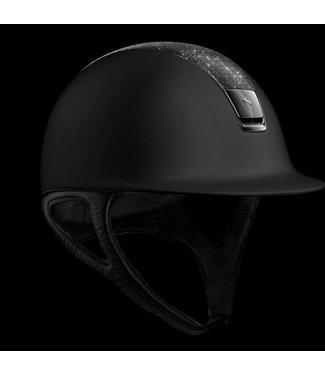 Samshield Shadowmatt Black, Crystal Fabric Swarovski Black