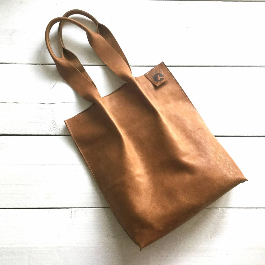 COLOR TUTTI TOUGH TOTE cognac