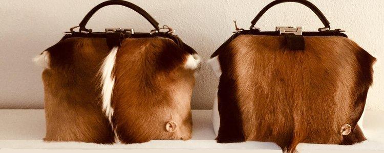 Hand gemaakte leren tassen