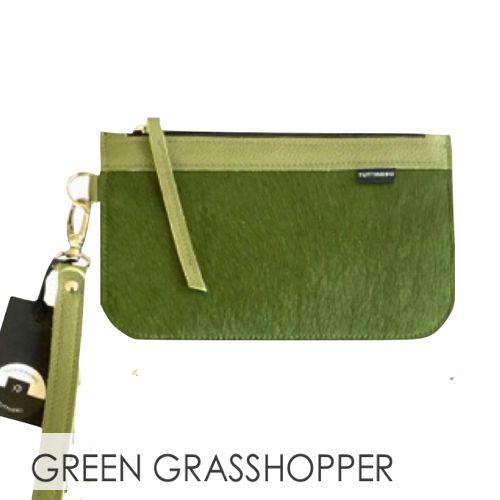 COLOR GREEN GRASSHOPPER CLUTCH