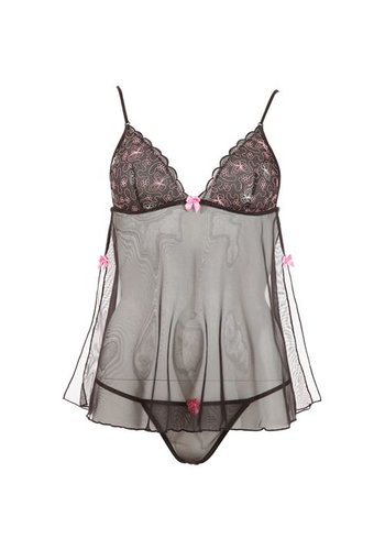 Cottelli Collection Babydoll Butterfly