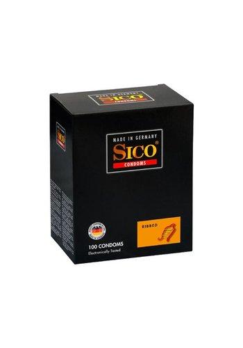 Sico Sico Ribbed Condooms - 100 Stuks