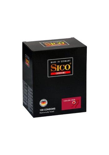 Sico Sico Color Red Aardbei Condooms - 100 Stuks