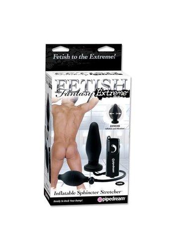 Fetish Fantasy Extreme Sphincter Stretcher Opblaasbare Buttplug