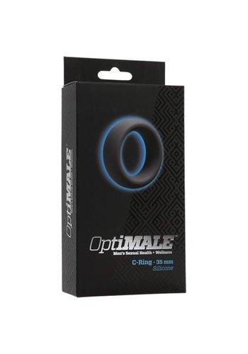 OptiMALE Cockring - 35mm - grijs
