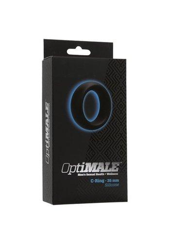 OptiMALE Cockring - 35mm - Zwart