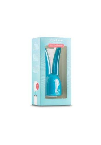 MyMagicWand MyMagicWand Bunny Opzetstuk - Blauw